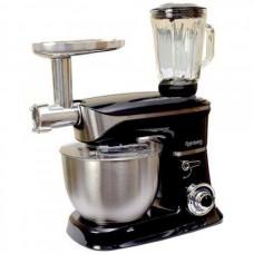 Многофункциональный кухонный комбайн «Rainberg-8080»  тестомес (миксер), блендер, мясорубка