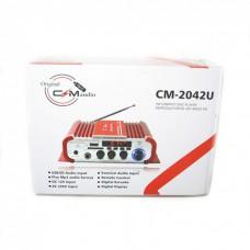 Усилитель звука UKC CM 2042U и пультом ДУ караоке