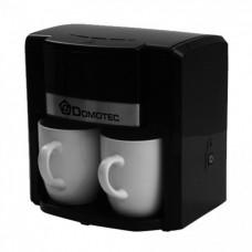 Капельная кофеварка Domotec MS-0708 На две чашки