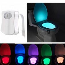 Светильник ночник LIGHTBOWL Plus Подсветка LED для унитаза с датчиком движения 8 цветов