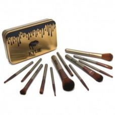 Профессиональный набор кистей для макияжа  kylie professional brush set
