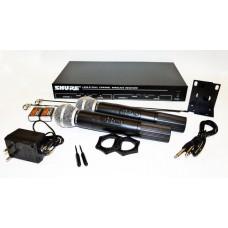 Радиосистема Shure  LX88-2 с двумя микрофонами