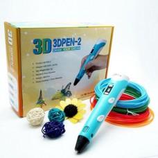 Набор для творчества рисования Рисуй 3D ручкой Smart 3D Pen 2
