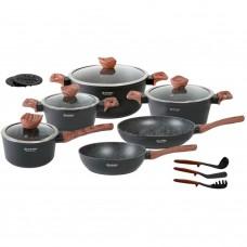 Набор мраморной антипригарной посуды Edenberg EB-5616