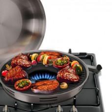 Сковород-гриль эмалированная Гриль-Газ А-Плюс 33 см