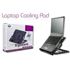 Подставка охлаждающая трансформер столик для ноутбука с 2 кулерами Laptop Table 9-17 ErgoStand