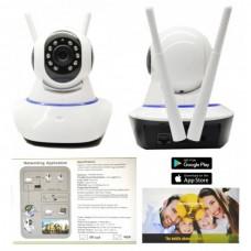 Видеоняня поворотная IP-камера WiFi, ночная съемка Smart Plus onvif YY