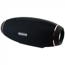 Колонка стерео портативная влагозащищенная Bluetooth Power Bank Hopestar H20 Черная