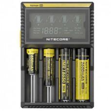 Зарядное устройство Nitecore Digicharger D4 для Li-Ion, Ni-Cd и Ni-Mh