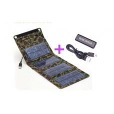 Камуфляжная складная солнечная зарядка для iPad/iPhone/ + регулятор
