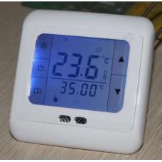 Терморегулятор сенсорный программируемый недельный 16A