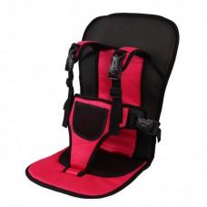 Автокресло автомобильное детское бескаркасное Child car cushion Red