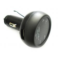 Автомобильный термометр-вольтметр с USB VST 706 (VST 706-3) Red