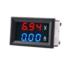 Цифровой вольтметр-амперметр DC 100 В 10 А