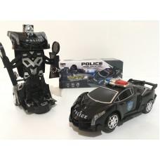 Машинка-трансформер Робот Автобот Полицейская машинка Police