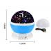 Ночник, светильник, проектор звездного неба Star Master Dream Rotating Blue (SMB-1)