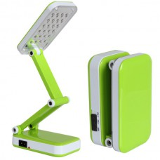 Лампа светодиодная аккумуляторная настольная трансформер складная Kamisafe KM 6668C Green