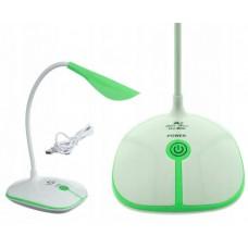 Лампа светодиодная аккумуляторная настольная сенсорная складная OJ-880 Green