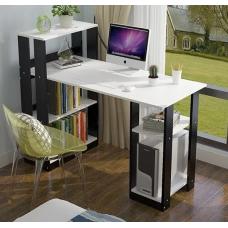 Стол компьютерный письменный NONA Nika 25 Венге и Белый