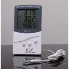 Метеостанция термометр гигрометр KTJ 318 с выносным датчиком температуры MK-318