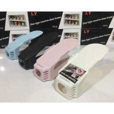 Подставка органайзер 4 шт. этажерка для обуви комплект LY Разноцветные