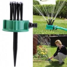Ороситель спринклерный для полива, распылитель для газона Multifunctional Sprinkler