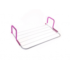 Сушка Сушилка для белья навесная на батарею Fold 28x49 см Pink