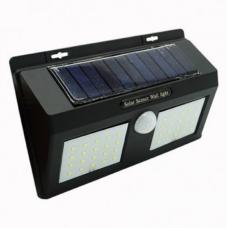 Светильник двойной настенный уличный на солнечной батарее 48 LED Solar Motion Sensor Light 1626A