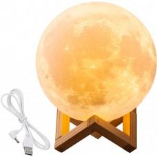 Светильник настольный сенсорный ночник лампа Луна 3D Moon Light 15 см