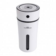Увлажнитель воздуха аромадиффузор с LED подсветкой ароматизатор Humidifier Бело-черный