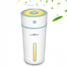 Увлажнитель воздуха аромадиффузор с LED подсветкой ароматизатор Humidifier Бело-зеленый