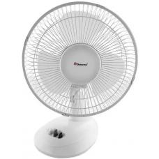 Вентилятор настольный портативный Domotec MS-1624 30 Вт 2 режима Белый
