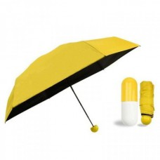 Зонт мини-зонт в капсуле Capsule Umbrella Yellow (Желтый)