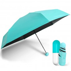 Зонт мини-зонт в капсуле Capsule Umbrella Blue (Голубой)
