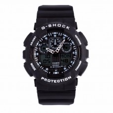 Часы Casio G-Shock GA 100 Black/White (реплика)