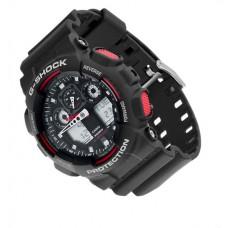 Часы Casio G-Shock GA 100 Black/Red (реплика)