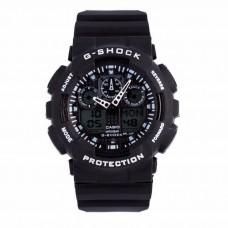 Часы Casio G-Shock GA 100 Black/White (реплика)