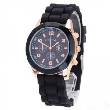 Женские часы Geneva черные
