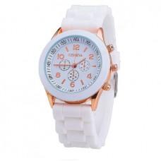 Женские часы Geneva белые