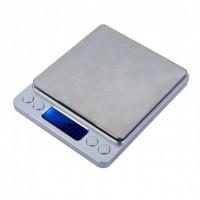 Весы ювелирные электронные карманные c 2 чашами VS-1208-5 ACS/ 500 г/0,01 г