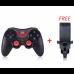 Джойстик Геймпад беспроводной Bluetooth для Android  Gen Game S5 Black