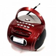 Радиоприемник Магнитофон Бумбокс Колонка Golon RX-186 Red