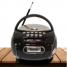 Радиоприемник Магнитофон Бумбокс Колонка Golon RX-186 Black