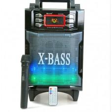 Колонка Комбик Bluetooth MP3 FM Радиомикрофон Пульт ДУ Акустическая система Golon RX-2900BT