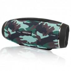 Колонка стерео портативная акустическая Bluetooth Hopestar H27 Militari