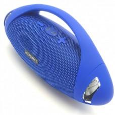 Колонка стерео портативная влагозащищенная Bluetooth Power Bank Hopestar H37 Blue