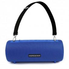 Колонка стерео портативная влагозащищенная Bluetooth Hopestar H39 Blue