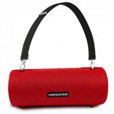 Колонка стерео портативная влагозащищенная Bluetooth Hopestar H39 Red