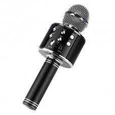 Беспроводной караоке-микрофон WSTER-WS858 в кофре (black)