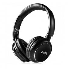 Наушники беспроводные Bluetooth стерео NIA Q1 с МР3 и FM Black